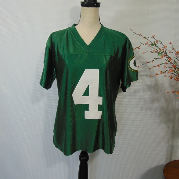 reputable site b80d6 df744 NFL Brett Favre #4 Green Bay Packers Jersey Sz L